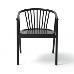 PAOLA ARM CHAIR / BLACK